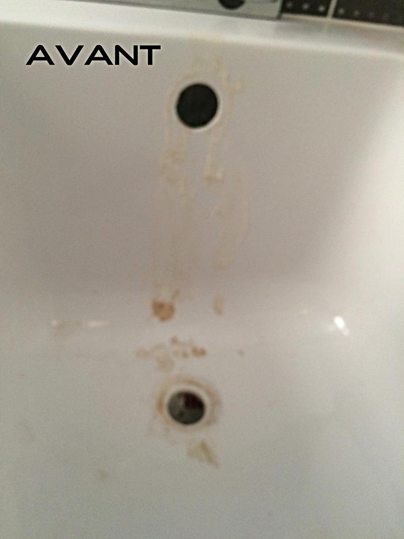 Rénovation de baignoire par ponçage puis polissage à Lyon