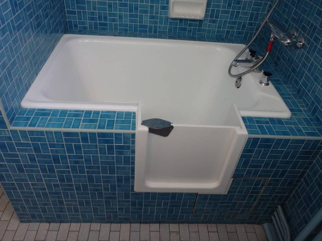 installation d 39 une porte sur votre baignoire bordeaux. Black Bedroom Furniture Sets. Home Design Ideas