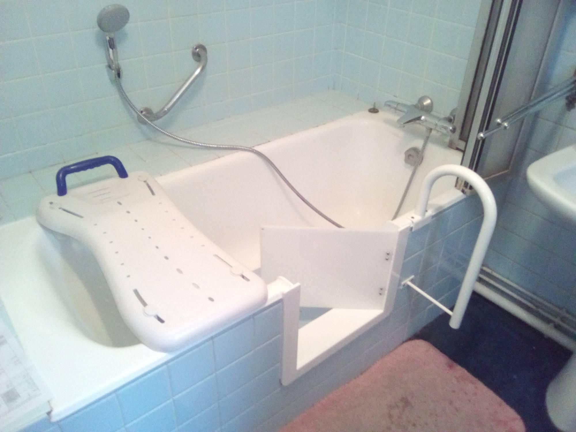 Porte baignoire NANTES