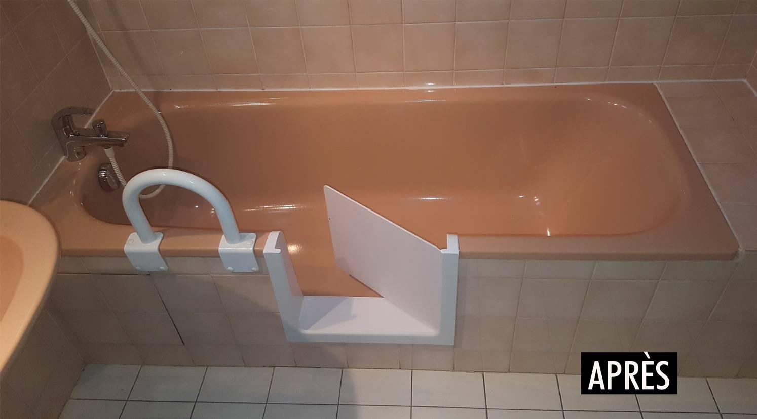 Poser Une Baignoire Avec Rebord baignoire a porte bastia - renovbain