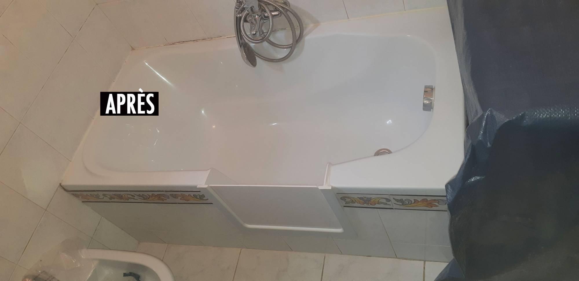 Transformer une baignoire en un bac de douche toulouse 31 - Transformer une baignoire en douche ...