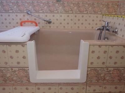baignoire à porte renovbain bordeaux