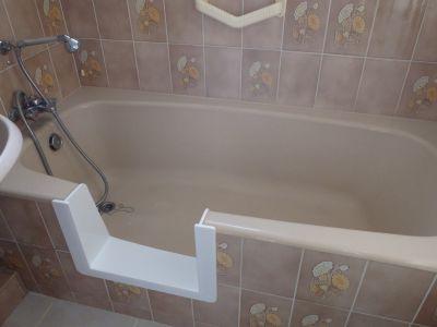 découpe latérale de baignoire sobain by renovbain