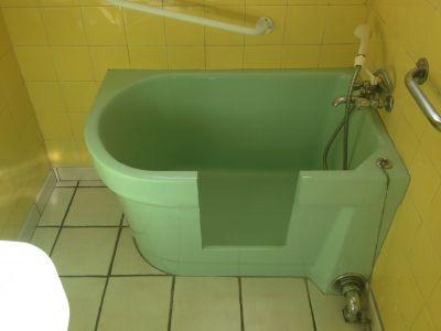 Ouverture de baignoire tablier face (sabot)