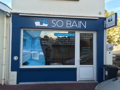 Show room baignoire à porte Bordeaux