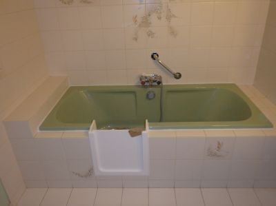 modification de baignoire pour personne âgée sur Le Bouscat