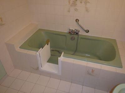 Ouverture lat rale de baignoire en gironde et en aquitaine for Transformer un bain en douche