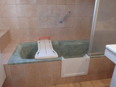 Adaptation de baignoire Bordeaux