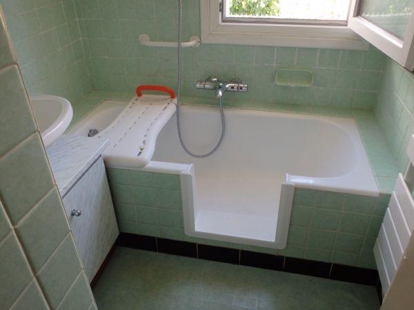 Solution n 1 ouverture de votre baignoire sans porte for Porte vitree pour baignoire