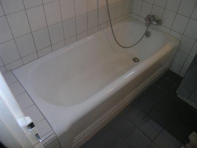 Avant la rénovation de baignoires