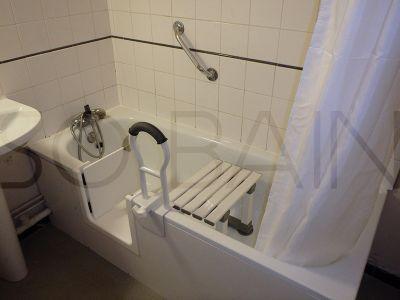 porte étanche sur baignoire Bordeaux et nouvelle Aquitaine