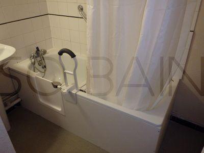 Adaptation baignoire pour personne à mobilité réduite sur Bordeaux