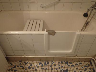 installation baignoire à porte Région Aquitaine